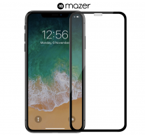 Tempered Glass iPhone 12 with Applicator-Black