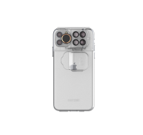 SHIFTCAM 6-in-1 Travel Set for iPhone 11 (Transparent Mil Spec Case) - CL