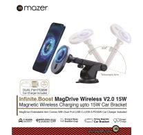Mazer Infinite.Boost Mag.Stand Qi Wireless 15W/10000mAh