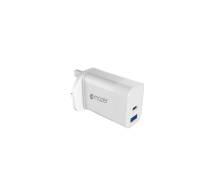 POWER.BOOST 1 USB-CPD18W 1 USB-A QC3.0 wall charger